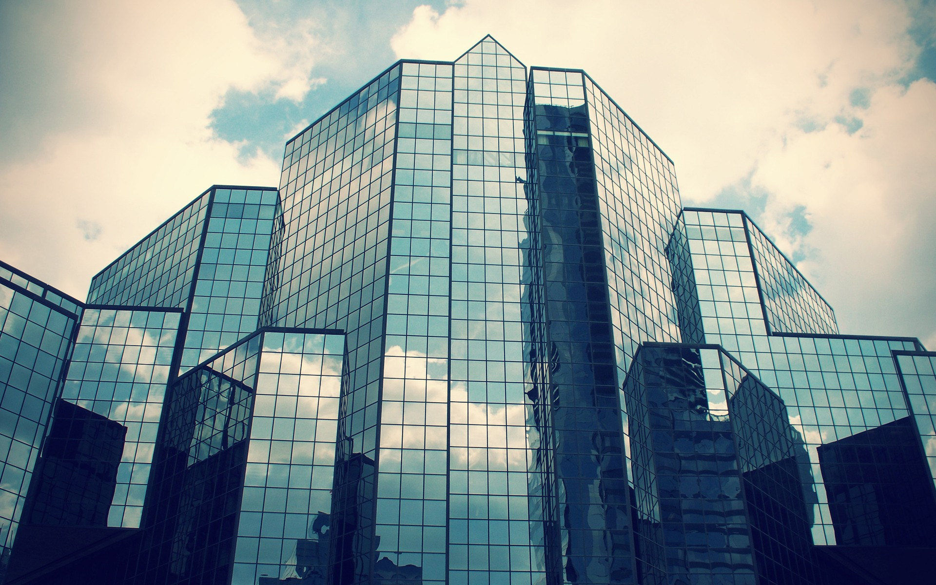 Building Wallpapers HD Complete Line Glass